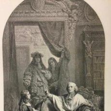 Arte: HISTOIRE. MAGAUD PINXT. A. SIROUY LITH. HELIOG. DUJARDIN EUDES. (49 X 33,8 CM). Lote 221993096