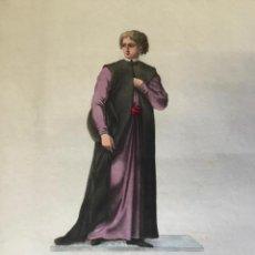 Arte: ÉLEVE, DU COLLÉGE DES ÉCCOSSAIS À ROME, EN HABIT ORDINAIRE. (44,1 X 27,2 CM). Lote 222012508