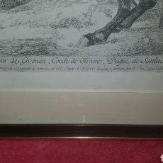 Arte: GRABADO DEL CONDE DUQUE DE OLIVARES. Lote 222183598