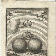 Arte: GRABADO DE LAS HONRAS QUE SE HICIERON A SU CATÓLICA MAJESTAD DE FELIPE IV MADRID AÑO 1666 S. XVII. Lote 222257428