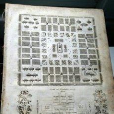 Arte: GRABADO LAMINA 1810 - EL CAMPAMENTO DE LOS ISRAELITAS. Lote 222479177
