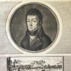 Arte: ALEXANDRE BERTHIER GÉNÉRAL DE DIVISION, CHEF DE L'ÉTAT-MAJOR. (41 X 29 CM). Lote 222553833