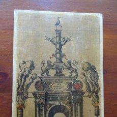 Arte: REPRODUCCIÓN ENTRADA AMBERES ARCHIDUQUE ERNESTO, DESCRIPTIO PUBLICAE GRATULATIONIS SPECTACULORUM. Lote 222693428