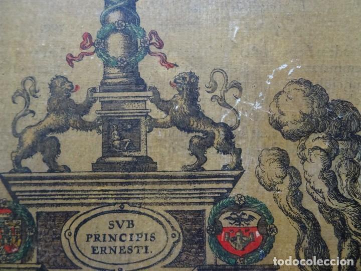 Arte: Reproducción entrada Amberes archiduque Ernesto, Descriptio Publicae Gratulationis Spectaculorum - Foto 2 - 222693428