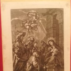 Arte: LA ADORACION DE LOS REYES POR JUAN BERNABE PALOMINO (1692-1777). Lote 222694077
