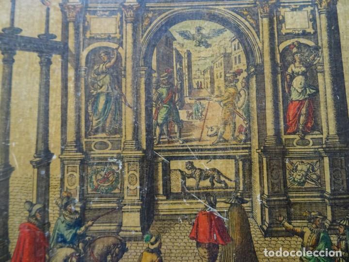 Arte: Reproducción entrada Amberes archiduque Ernesto, Descriptio Publicae Gratulationis Spectaculorum - Foto 2 - 222694927