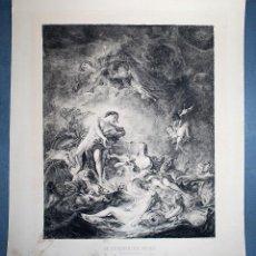Arte: LE COUCHER DU SOLEIL. FR. BOUCHER. CARLE DUPONT GRABÓ.. Lote 62330912