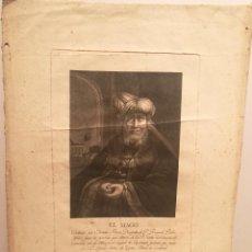 Arte: EL MAGO POR ESTEBAN BOIX (1774-1829). 1796.. Lote 222989886