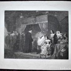 Arte: LOUIS TREIZE ET SAINT VINCENT DE PAUL. LOUIS XIII Y SAN VICENTE DE PAUL.. Lote 13697683