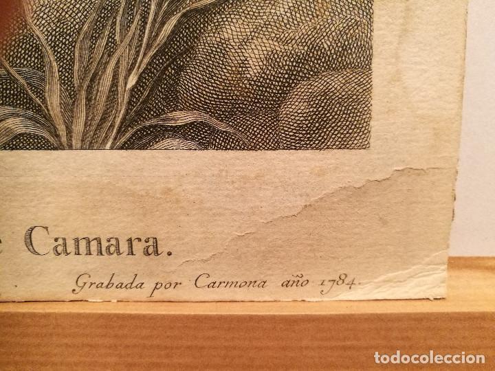Arte: MARIA MAGDALENA POR MANUEL SALVADOR CARMONA (1734-1820). 1784. - Foto 3 - 223122602
