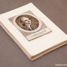Arte: HEINRICH PFENNINGER (1749-1815) - SUIZOS FAMOSOS DE LA HISTORIA - 31 HELVETIENS BERÜHMTE MÄNNER. Lote 223252740