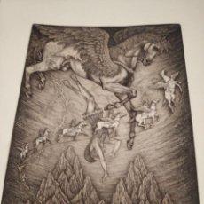 Arte: GRABADO PETR MELAN PINTOR ACADÉMICO Y ARTISTA GRÁFICO.NACIDO EL 2 DE MARZO DE 1947,FIRMADO Y SELLADO. Lote 223270837