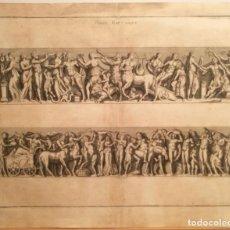 Arte: POMPE BACCHIQUE. ANONIMO S. XVIII.. Lote 223379471