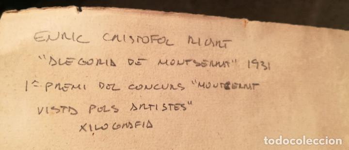 Arte: MONTSERRAT POR ENRIC CRISTOFOL RICART. 1931. - Foto 5 - 223380433
