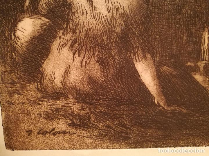 Arte: LES AIGUADORES POR JOAN COLOM (1879-1964) - Foto 2 - 223500866