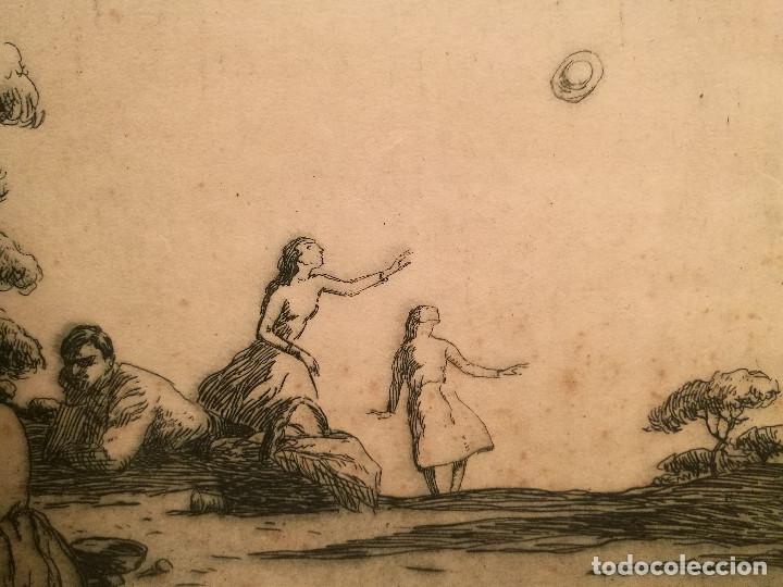 Arte: EL PICNIC PER JOAN COLOM (1879-1964) - Foto 4 - 223502148