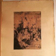 Arte: ESCENAS ESPAÑOLAS POR RICARDO MARIN (1874-1955). Lote 223502768