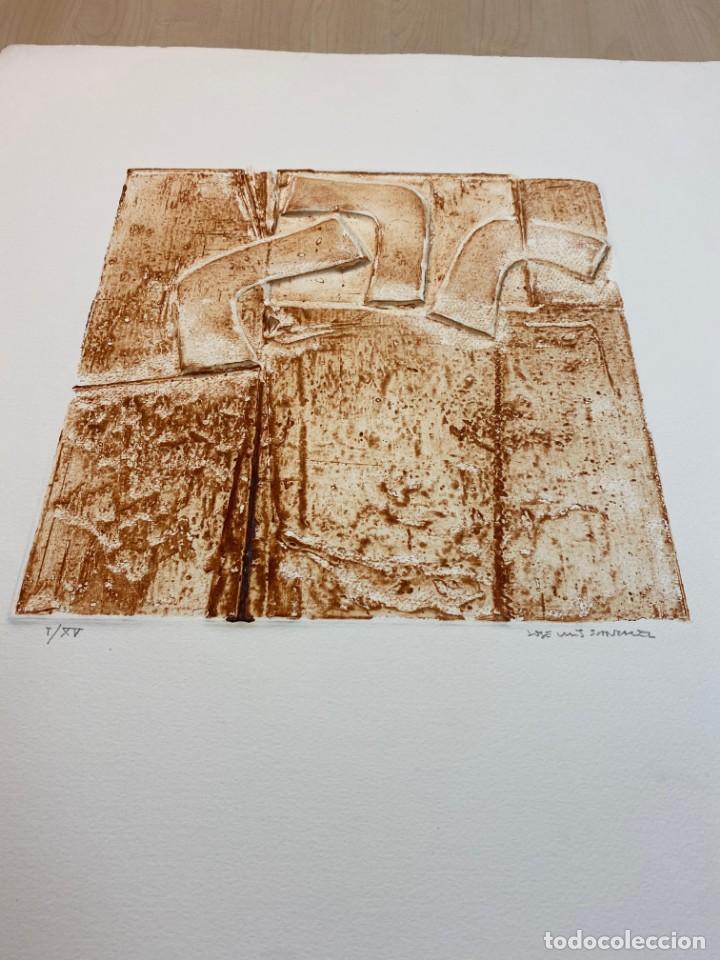 Arte: Obra gráfica original del escultor Jose Luis Sánchez - Foto 2 - 223573777