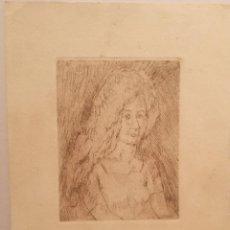 Arte: RETRATO POR JOSEP MOMPOU (1888-1968). Lote 223588856