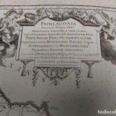 Arte: ANTIGUO GRABADO DE LA PAPHLAGONIA MEDITERRANEA, DE FINAL SIGLO XVII. Lote 223624071