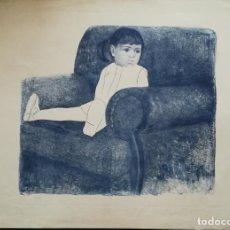 Arte: GRABADO AL AGUAFUERTE FIRMADO Y NUMERADO /CLAUDIO 72. Lote 223981223