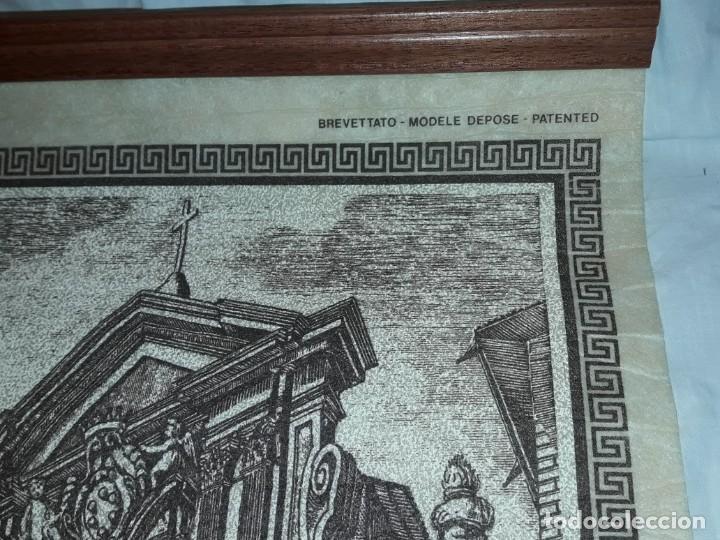 Arte: Bello grabado sobre papel tela Firenze por Gualchirani 64x62cm - Foto 4 - 223982945