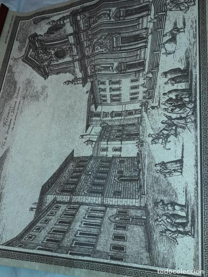 Arte: Bello grabado sobre papel tela Firenze por Gualchirani 64x62cm - Foto 13 - 223982945