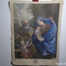 Arte: GRABADO GUIDO RENI.BON.PINOCITOSE F. POILLY.A PARIS RUE ST. JACQUES A LIMAGE ST. BENOIST.. Lote 224256836