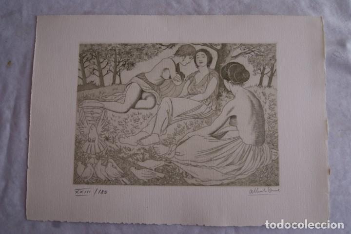 Arte: SAFO POEMAS EDICION BIBLIOGRAFICA 10 GRABADOS AGUAFUERTE ALBERTO DUCE NUMERADOS 185 EJEMPLARES - Foto 3 - 224459102