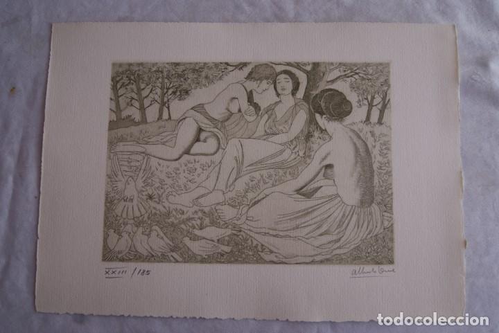 Arte: SAFO POEMAS EDICION BIBLIOGRAFICA 10 GRABADOS AGUAFUERTE ALBERTO DUCE NUMERADOS 185 EJEMPLARES - Foto 4 - 224459102