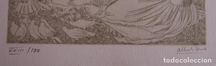 Arte: SAFO POEMAS EDICION BIBLIOGRAFICA 10 GRABADOS AGUAFUERTE ALBERTO DUCE NUMERADOS 185 EJEMPLARES - Foto 5 - 224459102