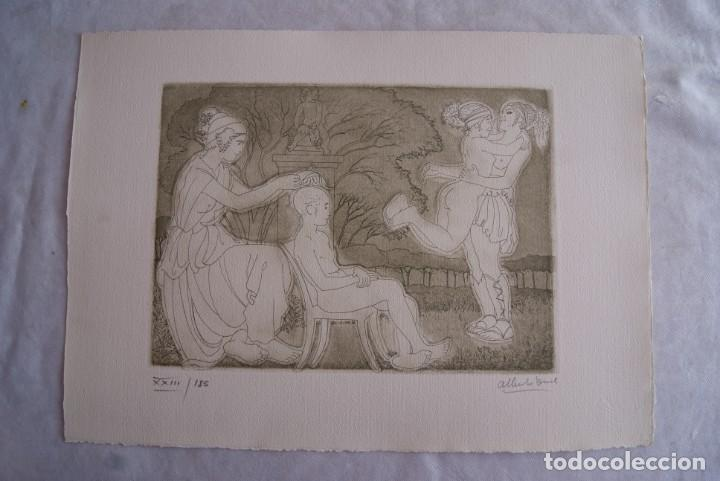 Arte: SAFO POEMAS EDICION BIBLIOGRAFICA 10 GRABADOS AGUAFUERTE ALBERTO DUCE NUMERADOS 185 EJEMPLARES - Foto 7 - 224459102