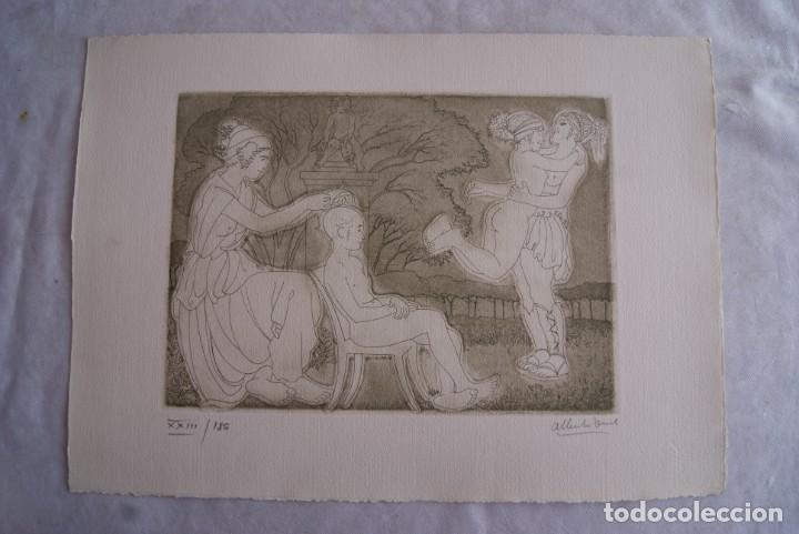 Arte: SAFO POEMAS EDICION BIBLIOGRAFICA 10 GRABADOS AGUAFUERTE ALBERTO DUCE NUMERADOS 185 EJEMPLARES - Foto 8 - 224459102