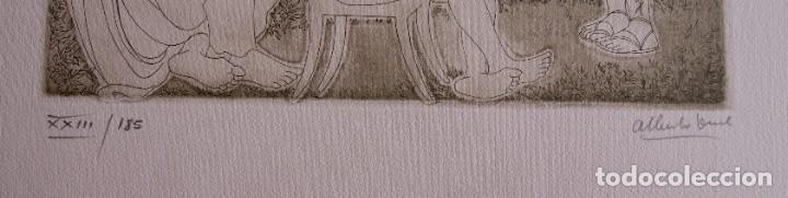 Arte: SAFO POEMAS EDICION BIBLIOGRAFICA 10 GRABADOS AGUAFUERTE ALBERTO DUCE NUMERADOS 185 EJEMPLARES - Foto 9 - 224459102