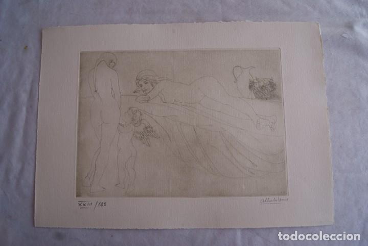 Arte: SAFO POEMAS EDICION BIBLIOGRAFICA 10 GRABADOS AGUAFUERTE ALBERTO DUCE NUMERADOS 185 EJEMPLARES - Foto 10 - 224459102