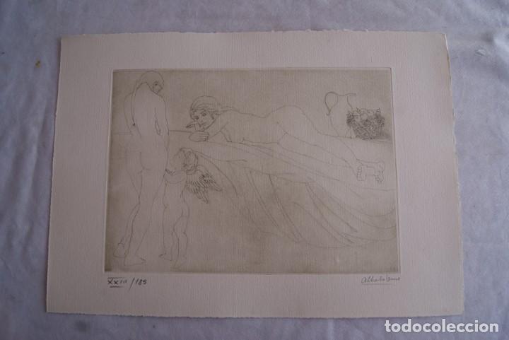 Arte: SAFO POEMAS EDICION BIBLIOGRAFICA 10 GRABADOS AGUAFUERTE ALBERTO DUCE NUMERADOS 185 EJEMPLARES - Foto 11 - 224459102