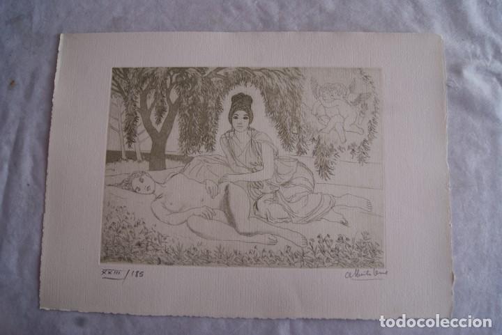 Arte: SAFO POEMAS EDICION BIBLIOGRAFICA 10 GRABADOS AGUAFUERTE ALBERTO DUCE NUMERADOS 185 EJEMPLARES - Foto 12 - 224459102