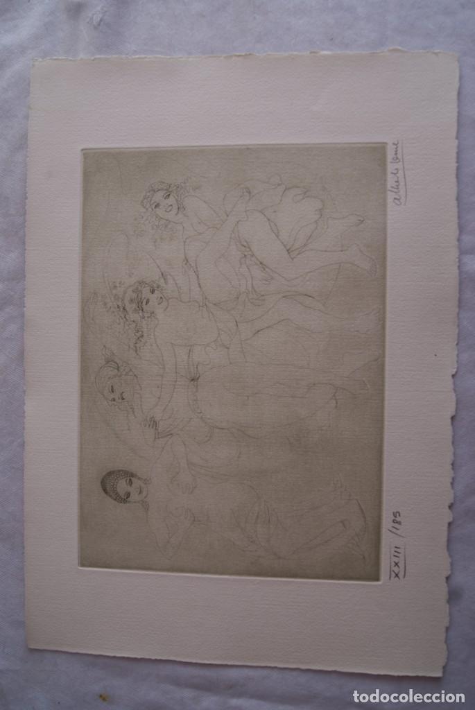 Arte: SAFO POEMAS EDICION BIBLIOGRAFICA 10 GRABADOS AGUAFUERTE ALBERTO DUCE NUMERADOS 185 EJEMPLARES - Foto 15 - 224459102