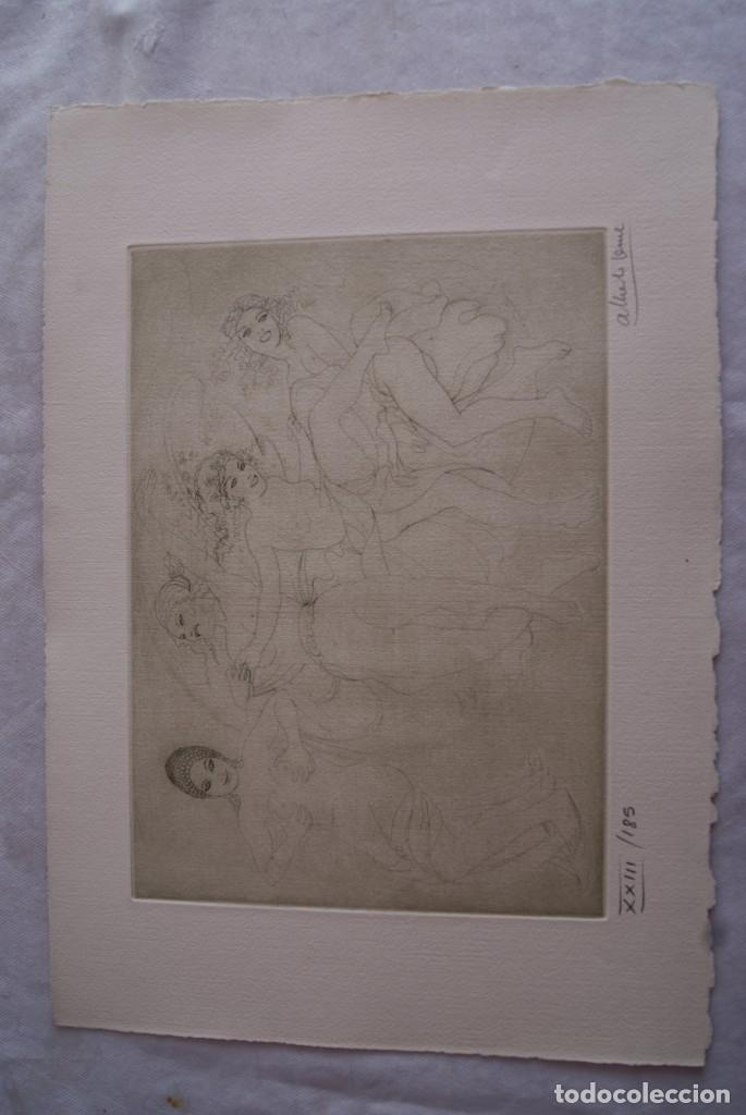 Arte: SAFO POEMAS EDICION BIBLIOGRAFICA 10 GRABADOS AGUAFUERTE ALBERTO DUCE NUMERADOS 185 EJEMPLARES - Foto 16 - 224459102