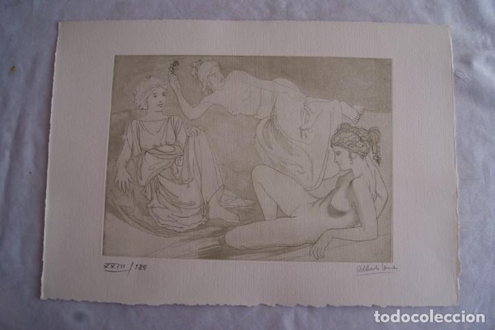Arte: SAFO POEMAS EDICION BIBLIOGRAFICA 10 GRABADOS AGUAFUERTE ALBERTO DUCE NUMERADOS 185 EJEMPLARES - Foto 18 - 224459102