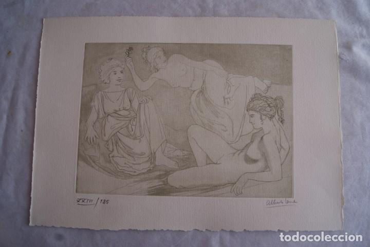 Arte: SAFO POEMAS EDICION BIBLIOGRAFICA 10 GRABADOS AGUAFUERTE ALBERTO DUCE NUMERADOS 185 EJEMPLARES - Foto 19 - 224459102