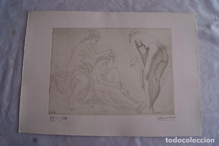 Arte: SAFO POEMAS EDICION BIBLIOGRAFICA 10 GRABADOS AGUAFUERTE ALBERTO DUCE NUMERADOS 185 EJEMPLARES - Foto 21 - 224459102