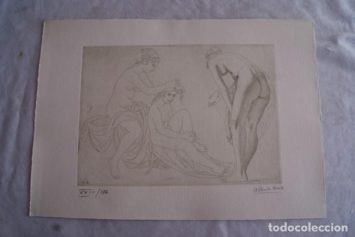 Arte: SAFO POEMAS EDICION BIBLIOGRAFICA 10 GRABADOS AGUAFUERTE ALBERTO DUCE NUMERADOS 185 EJEMPLARES - Foto 22 - 224459102