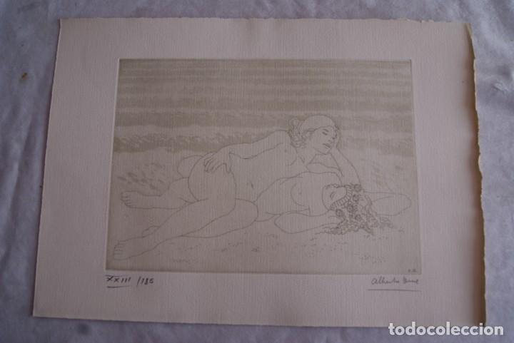Arte: SAFO POEMAS EDICION BIBLIOGRAFICA 10 GRABADOS AGUAFUERTE ALBERTO DUCE NUMERADOS 185 EJEMPLARES - Foto 27 - 224459102