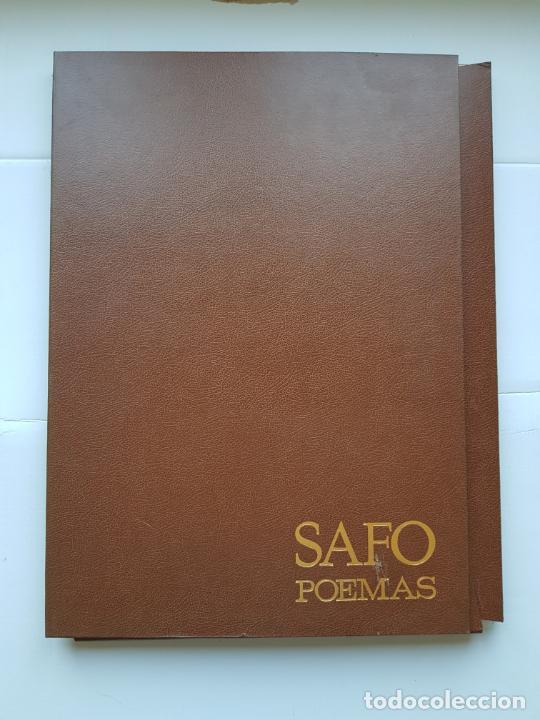 Arte: SAFO POEMAS EDICION BIBLIOGRAFICA 10 GRABADOS AGUAFUERTE ALBERTO DUCE NUMERADOS 185 EJEMPLARES - Foto 33 - 224459102