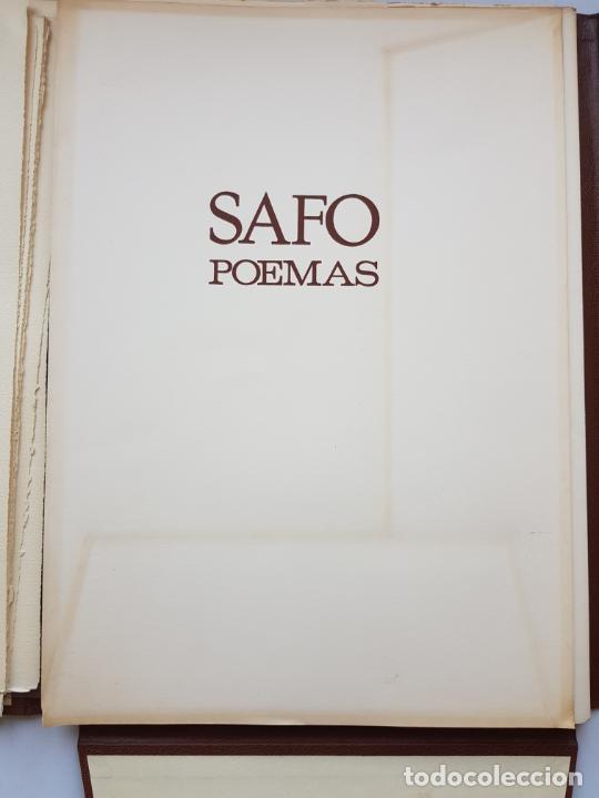 Arte: SAFO POEMAS EDICION BIBLIOGRAFICA 10 GRABADOS AGUAFUERTE ALBERTO DUCE NUMERADOS 185 EJEMPLARES - Foto 35 - 224459102