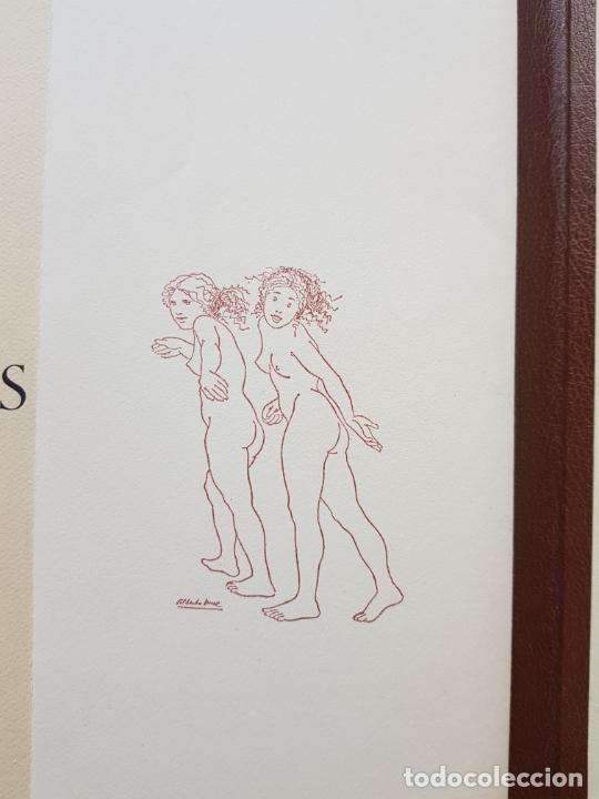 Arte: SAFO POEMAS EDICION BIBLIOGRAFICA 10 GRABADOS AGUAFUERTE ALBERTO DUCE NUMERADOS 185 EJEMPLARES - Foto 36 - 224459102