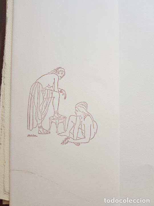 Arte: SAFO POEMAS EDICION BIBLIOGRAFICA 10 GRABADOS AGUAFUERTE ALBERTO DUCE NUMERADOS 185 EJEMPLARES - Foto 37 - 224459102
