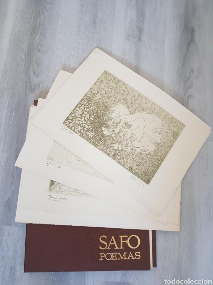 Arte: SAFO POEMAS EDICION BIBLIOGRAFICA 10 GRABADOS AGUAFUERTE ALBERTO DUCE NUMERADOS 185 EJEMPLARES - Foto 2 - 224459102