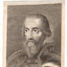 Arte: GRABADO EL REY DON FERNANDO, HERMANO DE CARLOS V. LOMMELIN. SIGLO XVIII. Lote 224466142